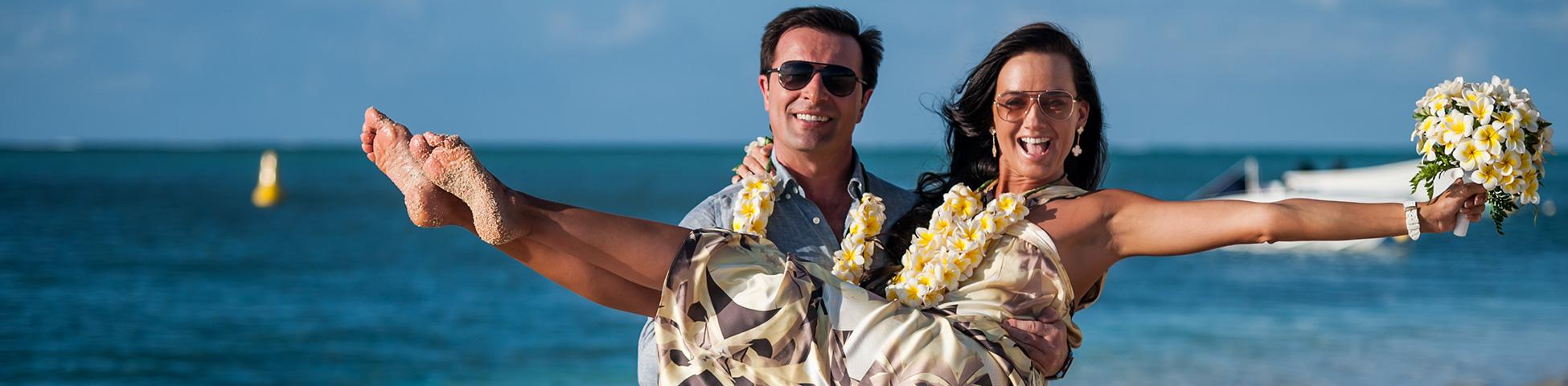 Ihre tropische Hochzeit in Mauritius